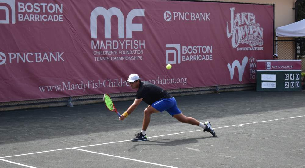 SEGURA TO FACE TOP-SEED HIDALGO FOR MARDY FISH SINGLES TITLE SUNDAY AT THE BOULEVARD