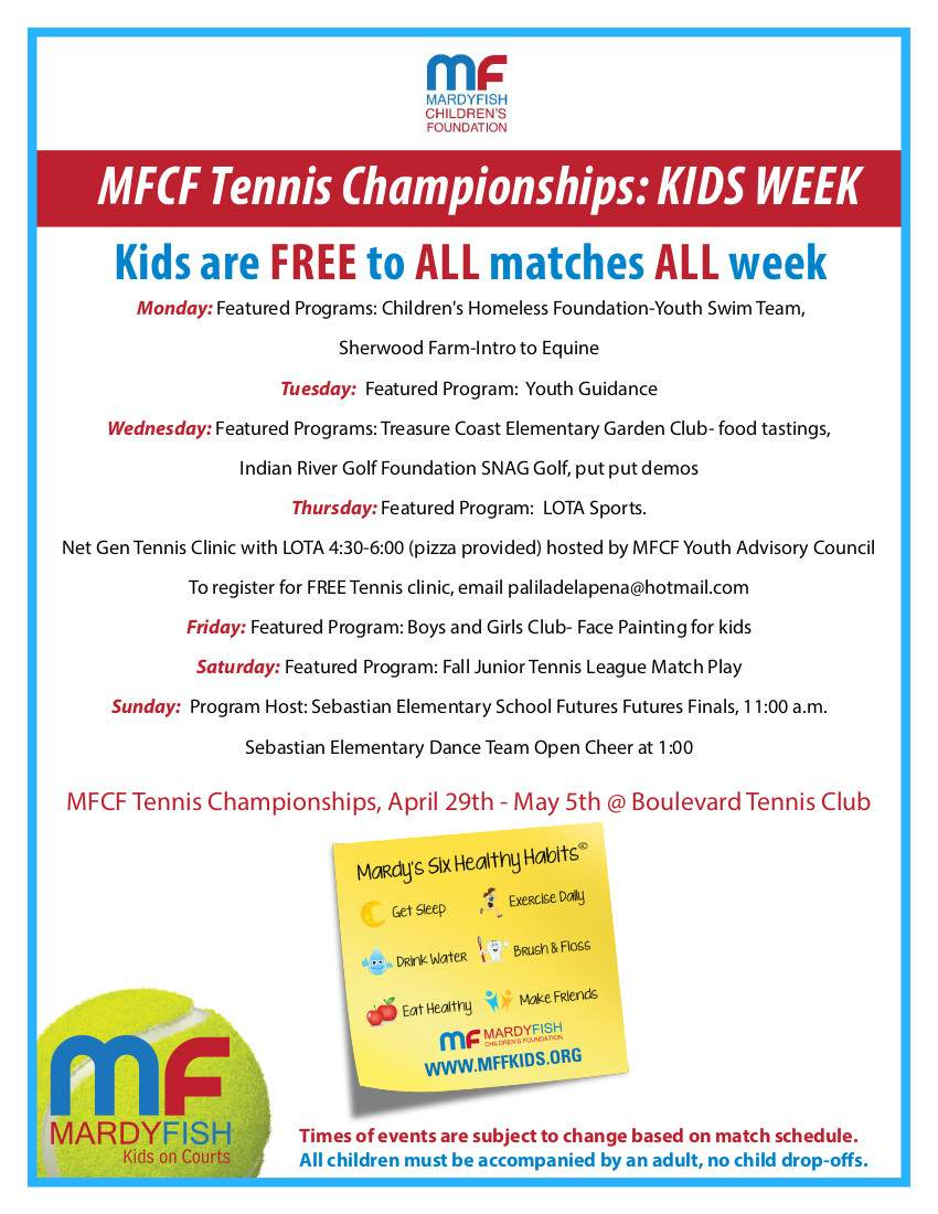 Kids Week 2019 flyer updated