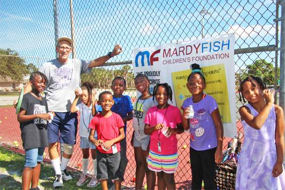 A group of children enjoying Mardy Fish enrichment program.
